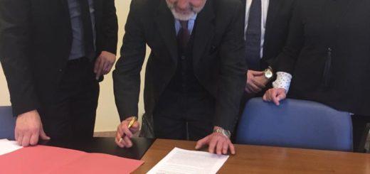 firma del protocollo d'intesa