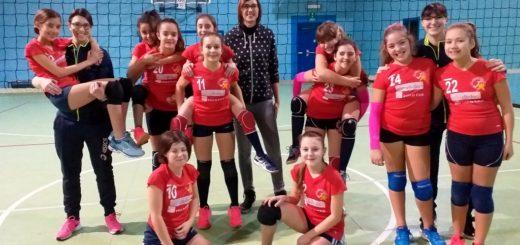 linda giordana e ragazze junior volley