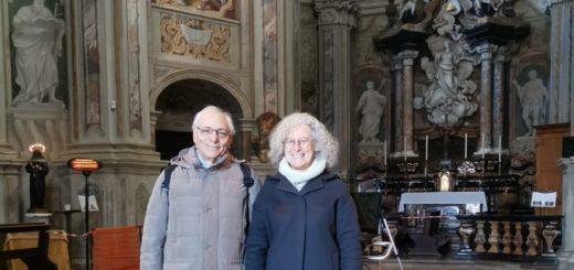 santa caterina con Marina Buzzi