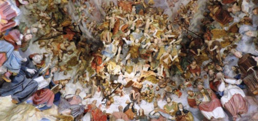 cappella paradiso santuario crea affresco interno