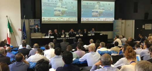 L'Aula De Donato del Politecnico di Milano gremita di partecipanti all'apertura del XVII Convegno Europeo nel 2017