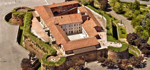 castello paleologi casale veduta aerea