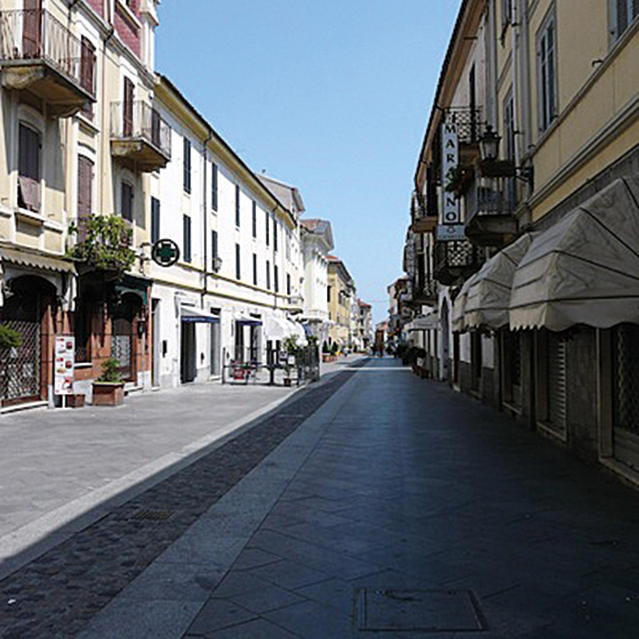 centro storico valenza veduta