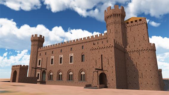castello Pontestura disegno