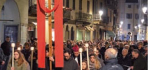via Crucis in città 2018