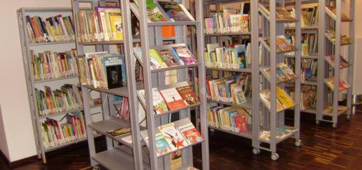 Biblioteca ragazzi all'interno del castello