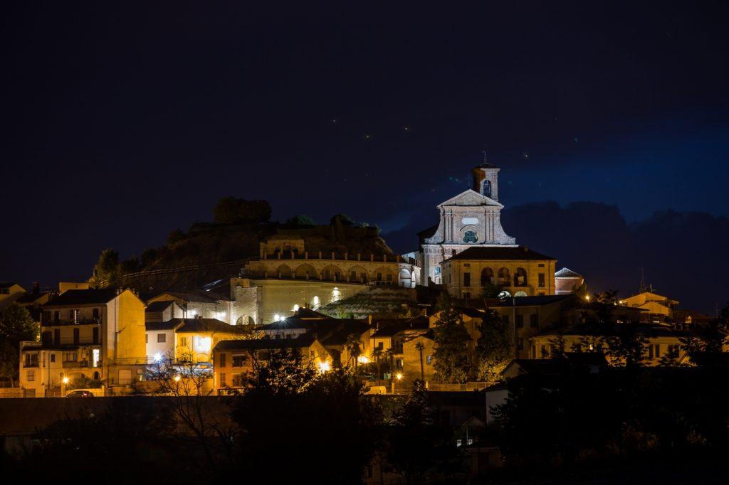Calliano by night - Foto di Beppe Cantarelli