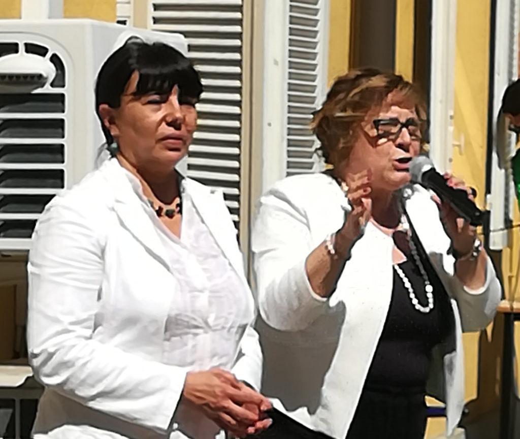 Foral Bosio Enrica/presidente ForAl - Melanti Patrizia/direttrice Casale