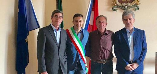 Il sindaco Colletti