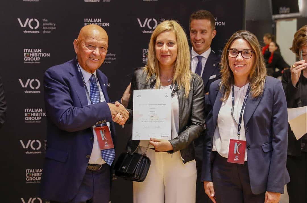Foral premiazione Vicenza