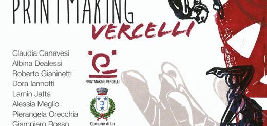locandina mostra Priintmaking Vercelli