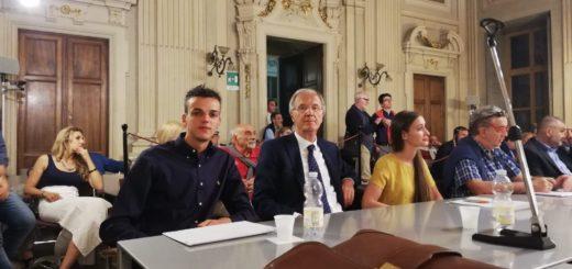 Giorgio Demezzi in Consiglio comunale