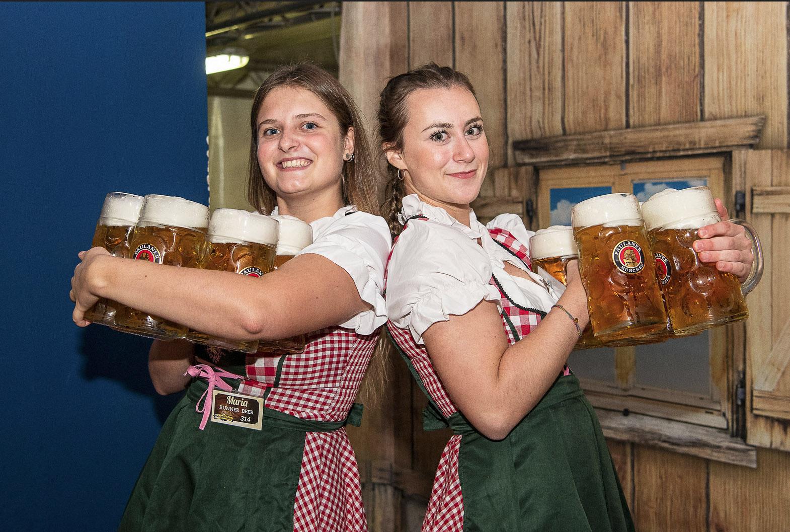 ragazze birra