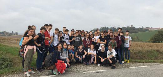 liceali del Sobrero al castello di Uviglie