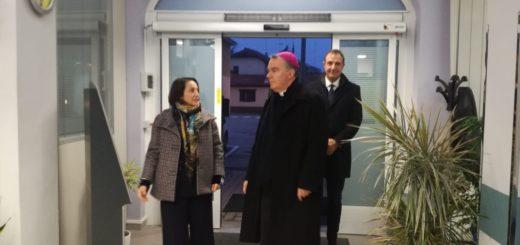 Il Vescovo Sacchi con Cressano e Secco