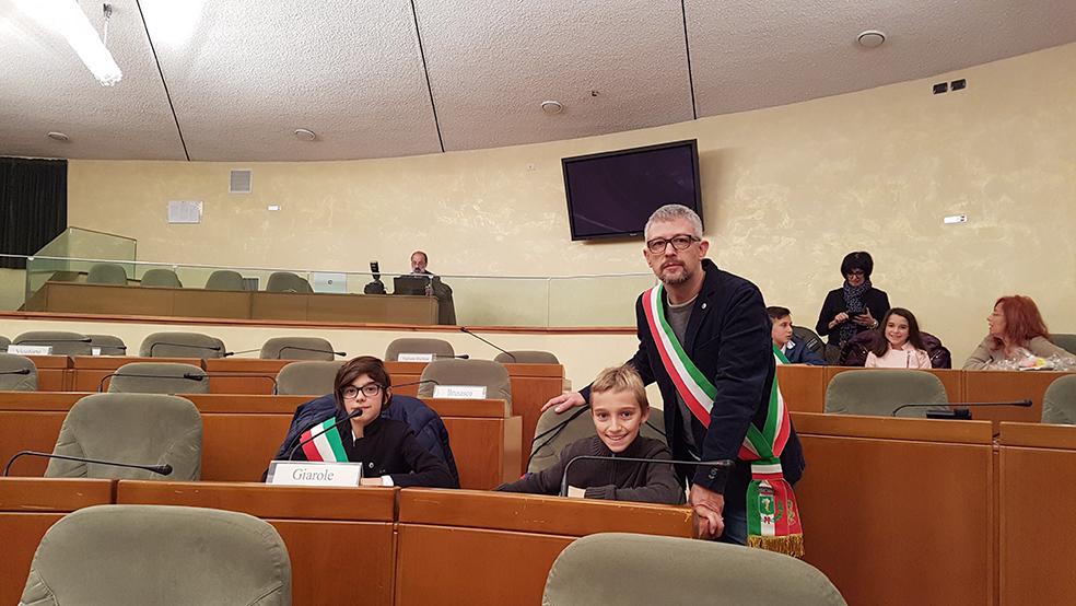 consiglieri di Giarole a Palazzo Lascaris