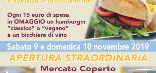 mercato coperto Campagna Amica hamburger
