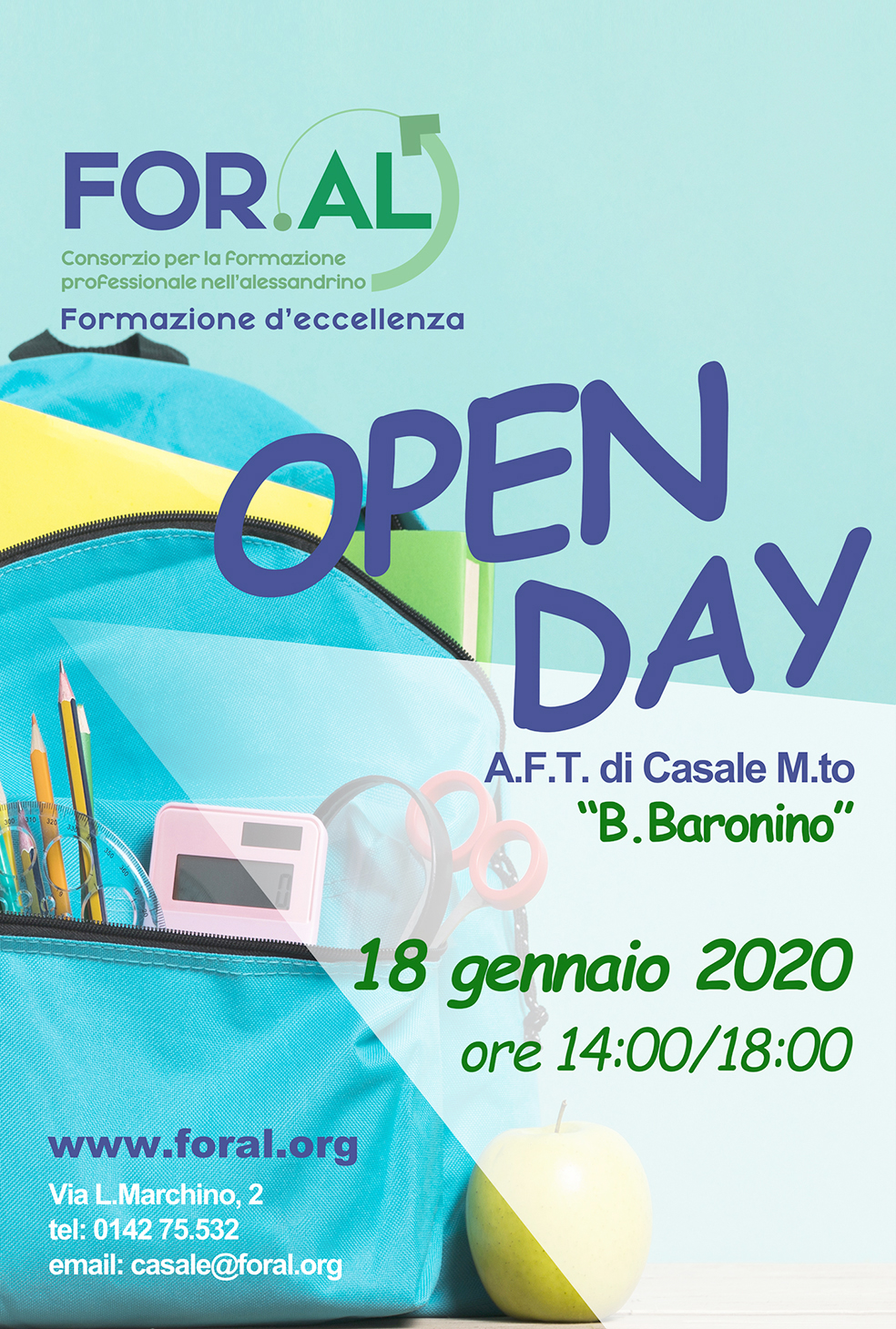 Foral Casale open day