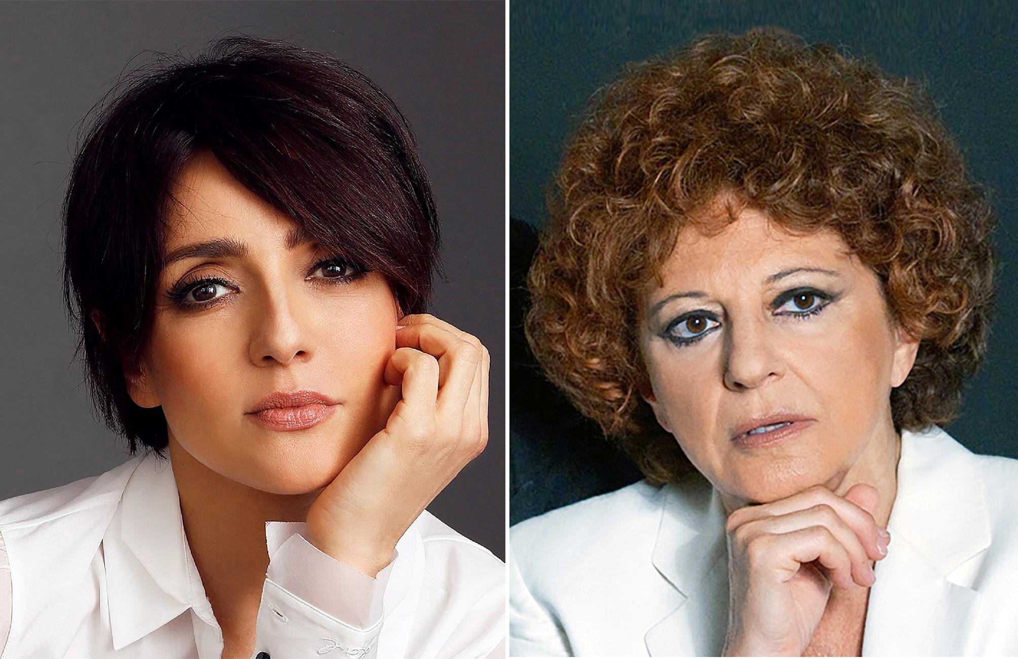 Ambra Angiolini e Ludovica Modugno