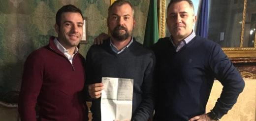 Raccolta fondi per Albania consegna ricevuta bonifico
