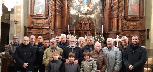 foto di gruppo per S. Antonio abata