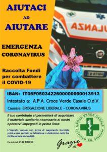 Raccolta Fondi - CVC LOCANDINA