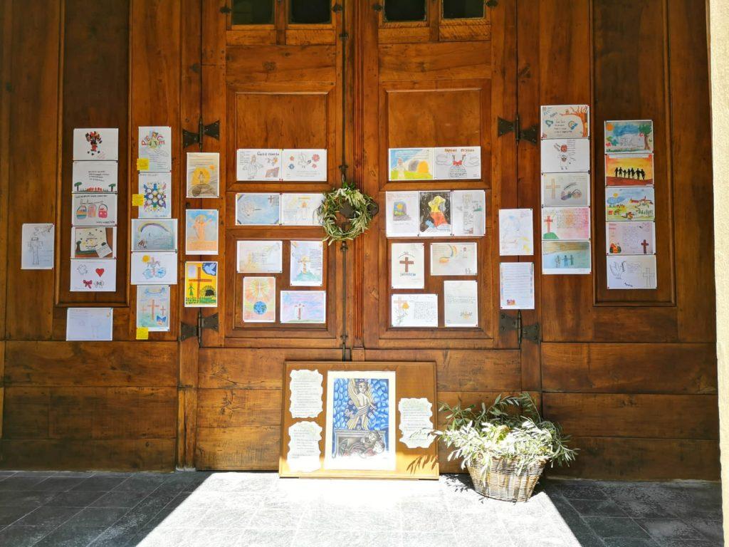 TERRUGGIA disegni bambini per Pasqua