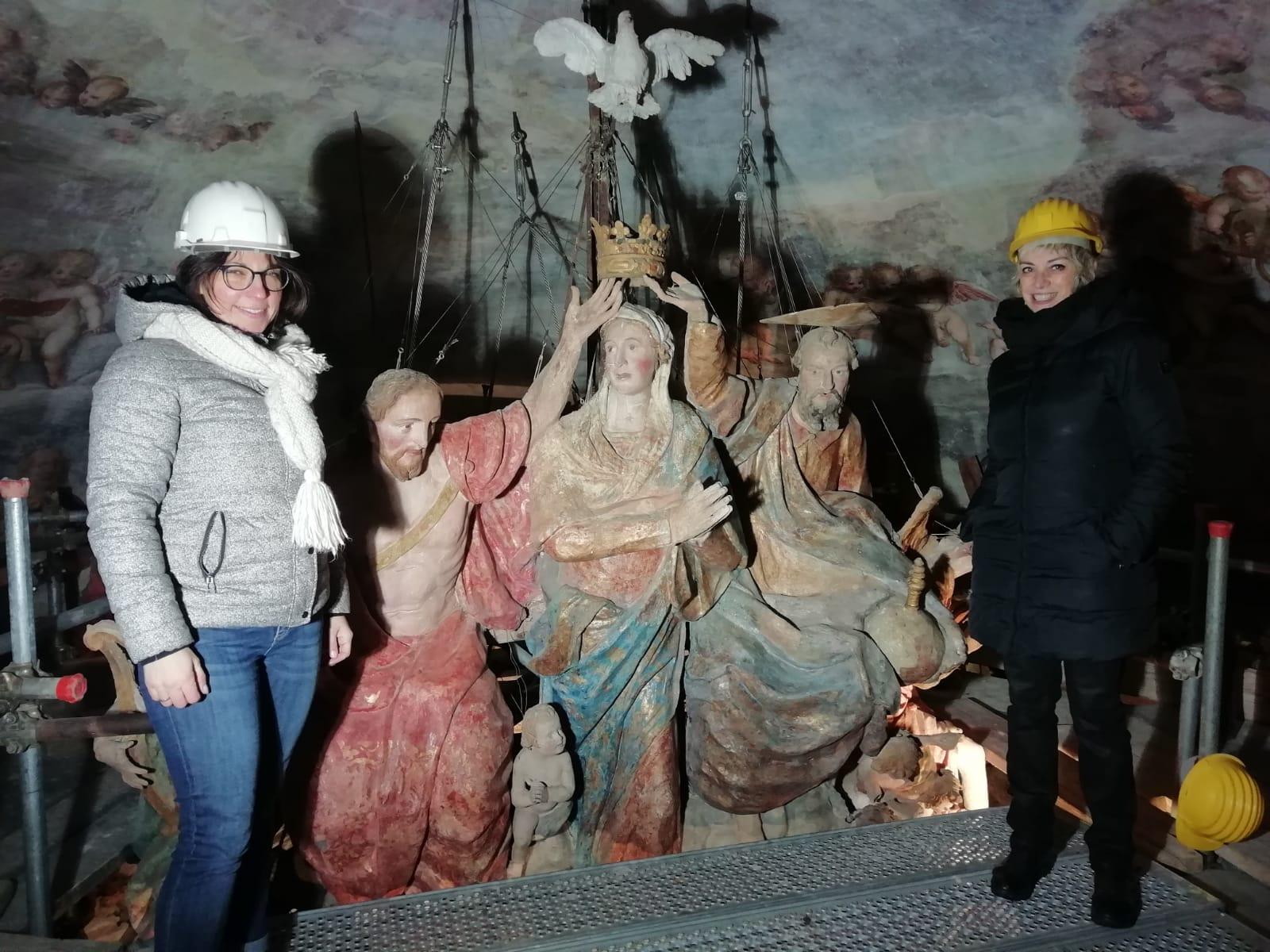 le prof.sse Francesca Veronese (Arte e territorio) e Giuliana Boschi (Discipline turistiche).