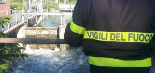 Vigili Fuoco: intervento nel Canale Lanza