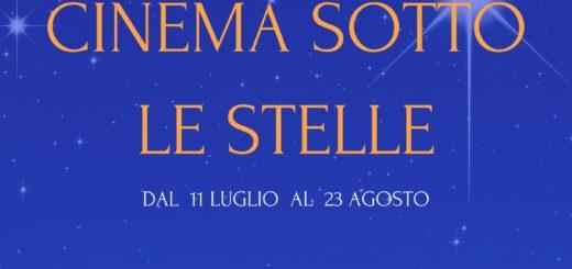 LOCANDINA CINEMA SOTTO LE STELLE