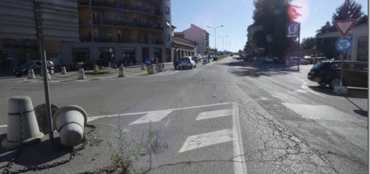 dissuasori piazza XXV Aprile