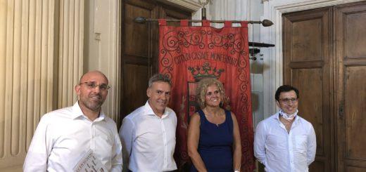 conferenza stampa di giovedì 27 agosto in Comune a Casale Monferrato