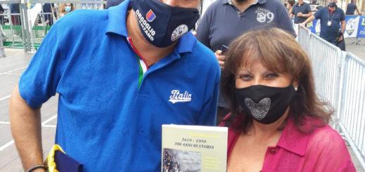 Salvini ed Ester Patanella