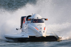 UIM F1H2O World Championship - CENSTAR Grand Prix of Xiamen - China - October 18-20, 2019 - Alex Carella (44), Maverick F1 Racing - Photo: Arek Rejs - editorial use only