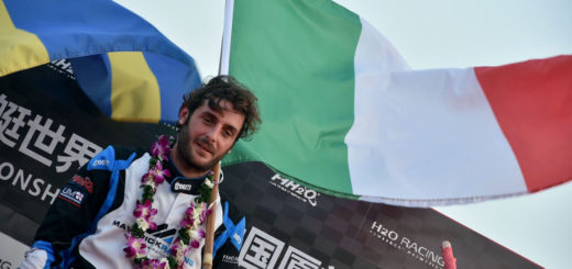 UIM F1H2O World Championship-Censtar Grand Prix of Xiamen-China-October 18-19, 2019-Alex Carella of Italy of Maverick Racing-Photo: Vittorio Ubertone-Editorial use only.
