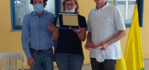 il vincitore Fabio Prete di valenza