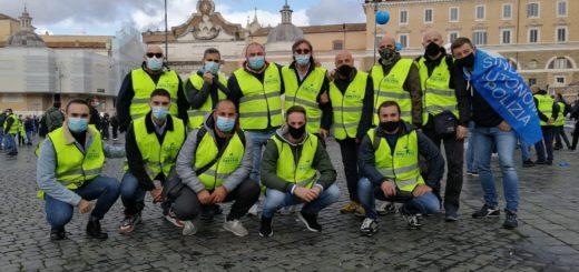 forze dell'ordine a Roma