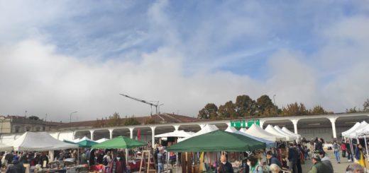 mercatino antiquariato panoramica