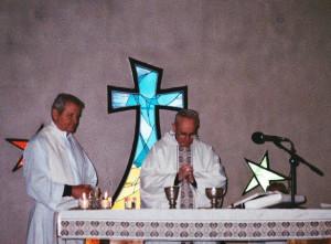 Card Bergoglio en monasterio ocd