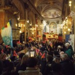 L'urna con le reliquie di San Giovanni Bosco a Lu