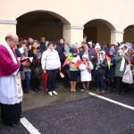 La sosta dell'urna con le reliquie di San Giovanni Bosco ad Occimiano