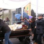 L'urna con le reliquie di San Giovanni Bosco al Collegio San Carlo di Borgo San Martino