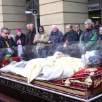 L'urna con le reliquie di San Giovanni Bosco a Casale Monferrato