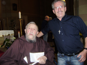 Padre Marco Marchese con don Giuseppe Cesana